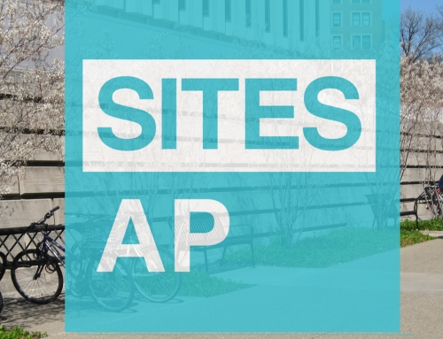 Announcing our first SITES AP: Lisa Dugan