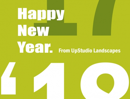 Happy New Year from UpStudio Landscapes!