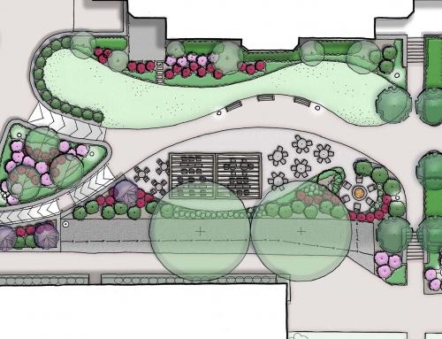 Vickroy Commons Plaza