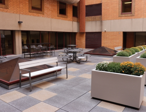 Forbes Tower Atrium Roof Terrace